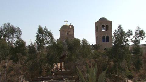 Jordan River. Baptism of Christ Footage