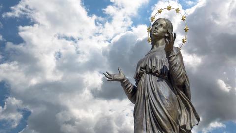 Virgin Mary Footage