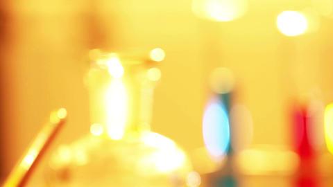 Laboratory CSI 64 focus change Stock Video Footage