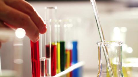 Laboratory CSI 82 investigating Stock Video Footage
