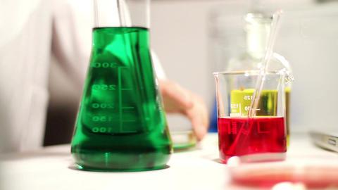 Laboratory CSI 92 investigating Stock Video Footage