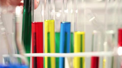 Laboratory CSI 94 investigating Stock Video Footage