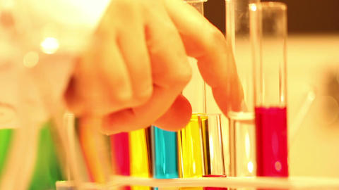 Laboratory CSI 98 investigating Stock Video Footage