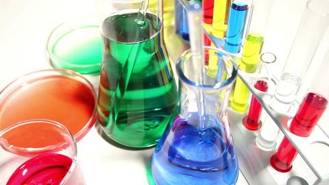 Laboratory CSI 106 dolly Footage