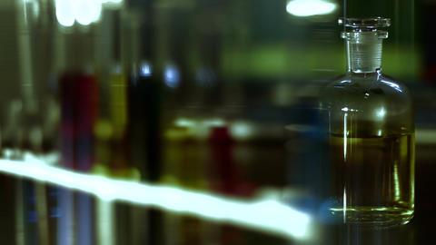 Laboratory CSI 120 dolly stylized Stock Video Footage