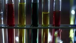 Laboratory CSI 128 dolly stylized Stock Video Footage