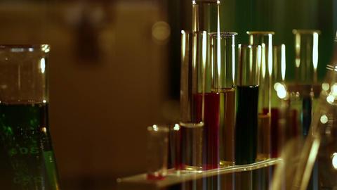 Laboratory CSI 134 dolly stylized Stock Video Footage