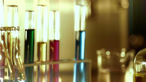 Laboratory CSI 138 dolly stylized Stock Video Footage