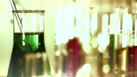 Laboratory CSI 140 dolly stylized Stock Video Footage