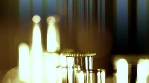 Laboratory CSI 144 dolly stylized EXTRA Stock Video Footage