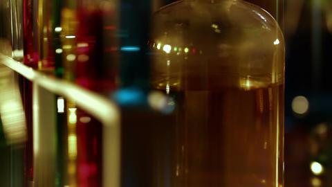 Laboratory CSI 148 dolly stylized Footage