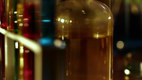 Laboratory CSI 150 dolly stylized Stock Video Footage