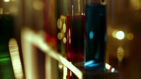 Laboratory CSI 152 dolly stylized Footage