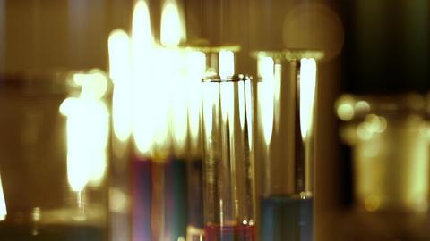 Laboratory CSI 158 focus change stylized Stock Video Footage