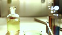 Laboratory CSI 164 dolly stylized Stock Video Footage