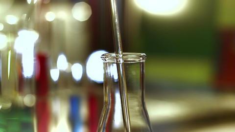 Laboratory CSI 166 dolly stylized Stock Video Footage