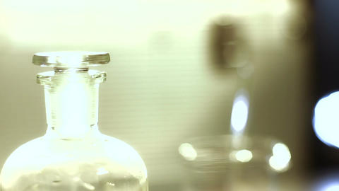 Laboratory CSI 168 dolly stylized Stock Video Footage
