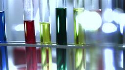 Laboratory CSI 170 dolly stylized Stock Video Footage