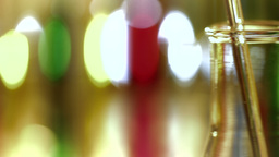 Laboratory CSI 172 dolly stylized Stock Video Footage