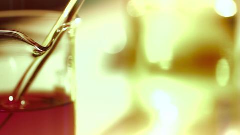 Laboratory CSI 174 dolly stylized Stock Video Footage