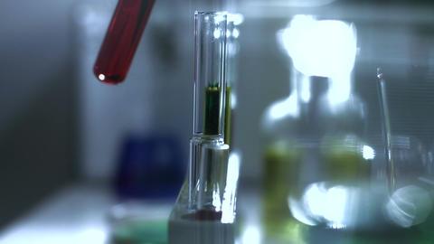 Laboratory CSI 198 investigating stylized Stock Video Footage