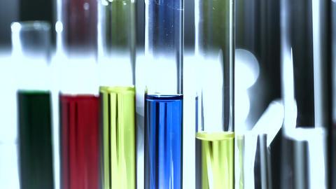 Laboratory CSI 214 investigating stylized Stock Video Footage