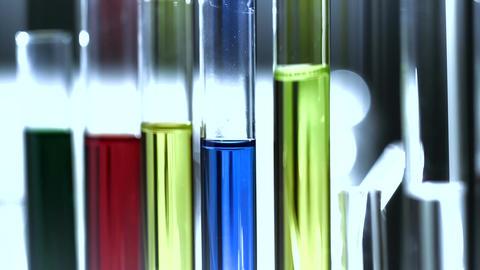 Laboratory CSI 216 investigating stylized Stock Video Footage