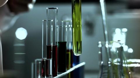 Laboratory CSI 244 investigating stylized Footage