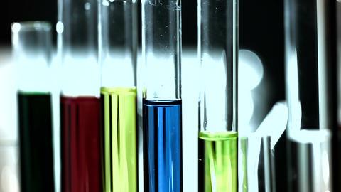 Laboratory CSI 264 investigating stylized Stock Video Footage