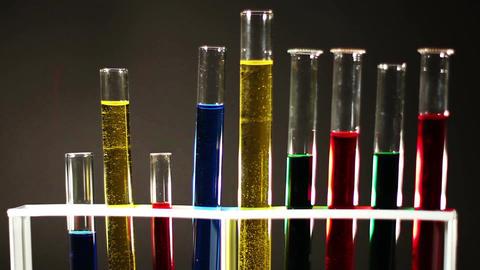 Laboratory CSI Concept rotating 04 Stock Video Footage