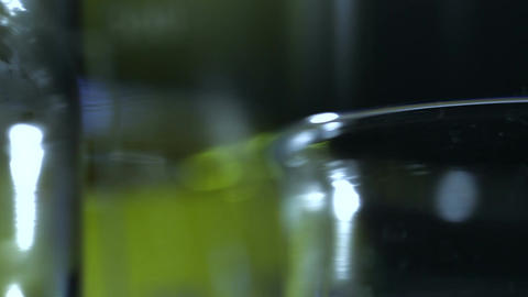 Laboratory CSI Concept rotating 10 stylized Stock Video Footage