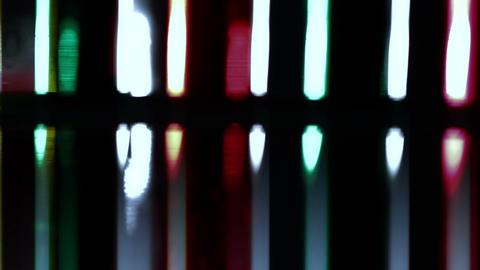 Laboratory CSI Concept rotating 16 stylized Stock Video Footage