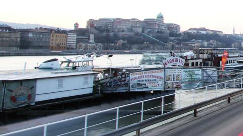 European City Timelapse 72 pan Stock Video Footage