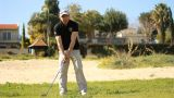 Golf golfer win winner boss competition pleasure relaxing weekend joy ビデオ