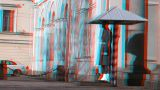 Stereoscopic 3D Helsinki 5 - Honour Guard In Downtown stock footage
