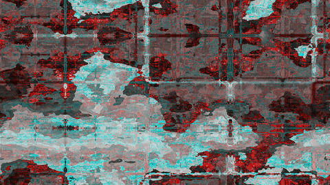 Abstract satellite view Stock Video Footage
