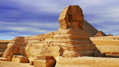 The Sphinx and Pyramid ビデオ