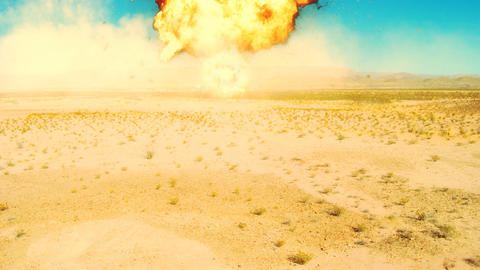 nuke nuclear explosion armageddon explode terror area 51 Fire bomb War Atomic Animation
