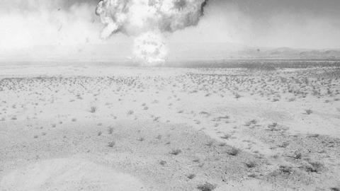 nuke nuclear explosion armageddon explode terror area 51... Stock Video Footage