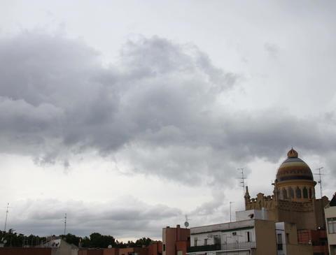 4K European City Clouds Timelapse 04 Stock Video Footage