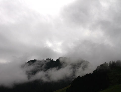 4K Mystic Clouds Timelapse Mountains 03 Stock Video Footage