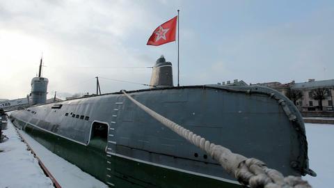 Submarine Stock Video Footage