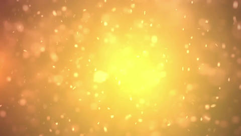 Particle Loop Orange Animation