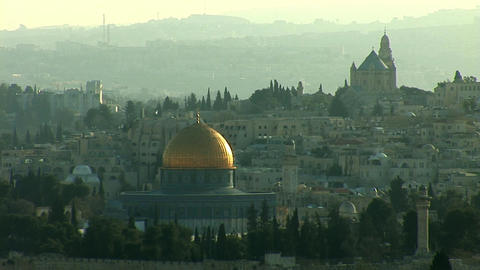 Jerusalem old sunset 0 Footage