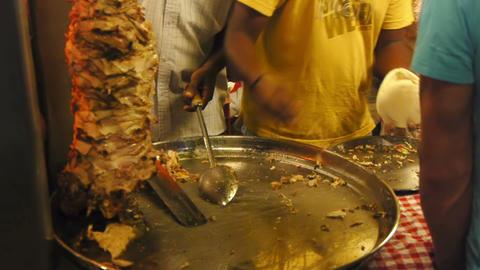 Burrito making Stock Video Footage