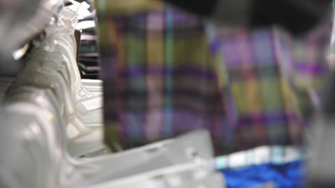 Clothing shop Stock Video Footage