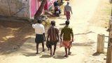 Walking indians men Footage