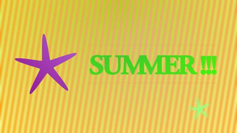 Summer animation Animation