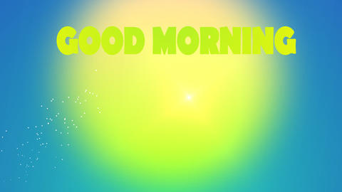 Prompt good morning Animation