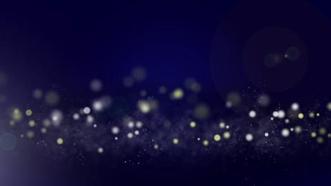Circle and particle background #3 Animation